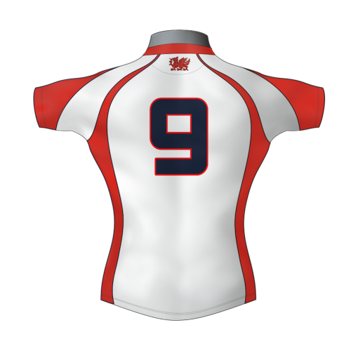 Classic Personalised Rugby Shirt TMS 438 Back - Badger Rugby