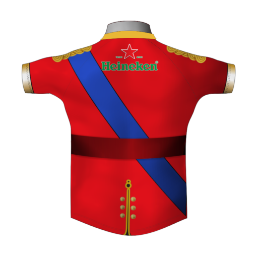 Bespoke Military Rugby Tour Shirt TRS 678 Back - Badger Rugby