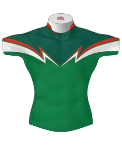 Classic Bespoke Rugby League Shirt TMS 431 Front - Badger Rugby