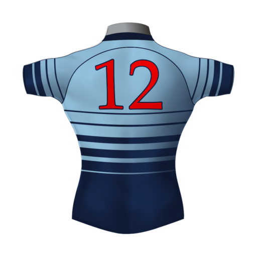 Classic Custom Rugby League Shirt TMS 462 Back - Badger Rugby