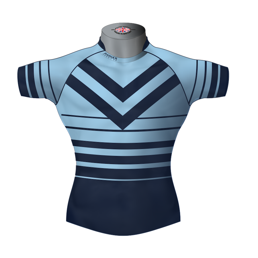55164c3e9 Classic Custom Rugby League Shirt TMS 462 Front - Badger Rugby