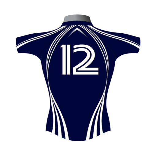 Classic Custom Rugby Shirt TMS 401 Back - Badger Rugby