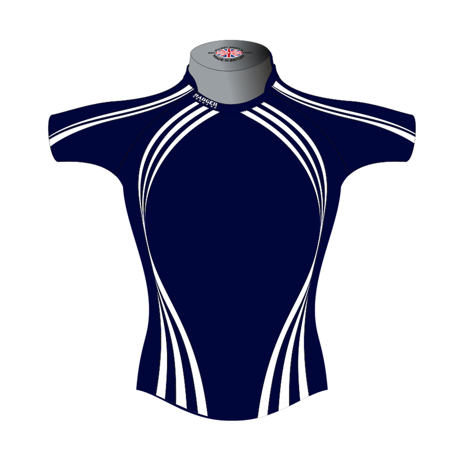 8d1f248d95 Classic Custom Rugby Shirt TMS 401 Front - Badger Rugby