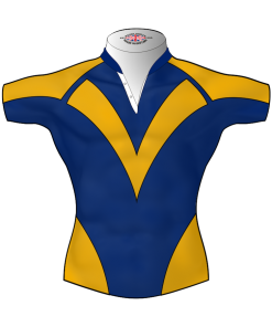 Classic Personalised Rugby League Shirt TMS 473 Front - Badger Rugby