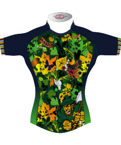 Colourful Custom Rugby Tour Shirt TRS 445 Front - Badger Rugby