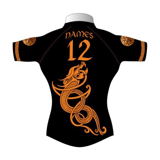 Custom Rugby Tour Shirt TRS 410 Back - Badger Rugby