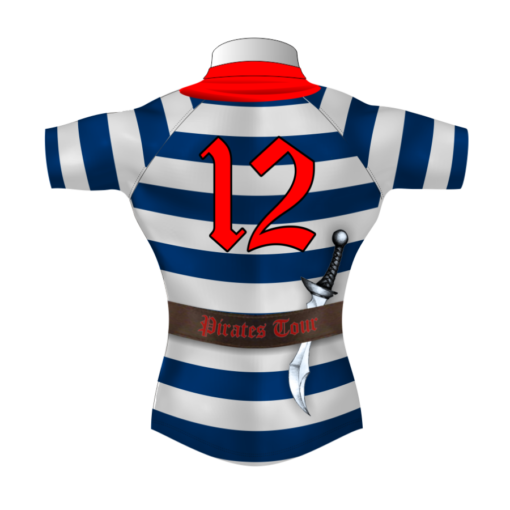 Funny Bespoke Rugby Tour Shirt TRS 409 Back - Badger Rugby