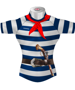 Funny Bespoke Rugby Tour Shirt TRS 409 Front - Badger Rugby