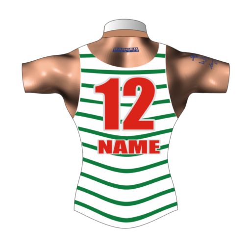 Funny Bespoke Rugby Tour Shirt TRS 419 Back - Badger Rugby
