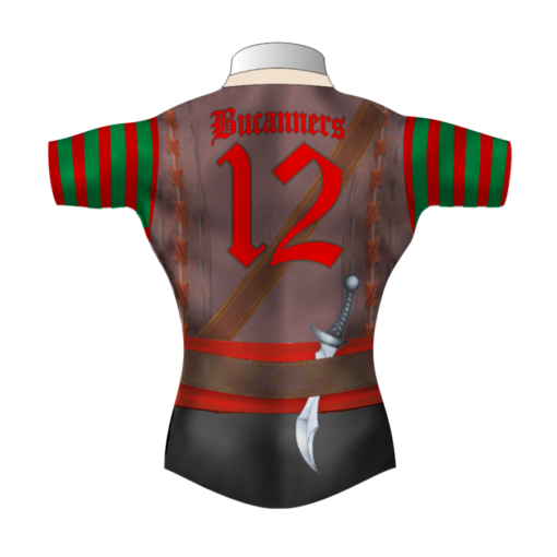 Funny Bespoke Rugby Tour Shirt TRS 444 Back - Badger Rugby