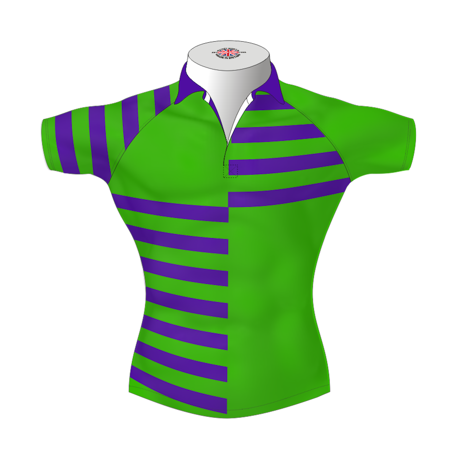 Quarter Striped Bespoke Rugby Shirt Tms 412 Badger Rugby