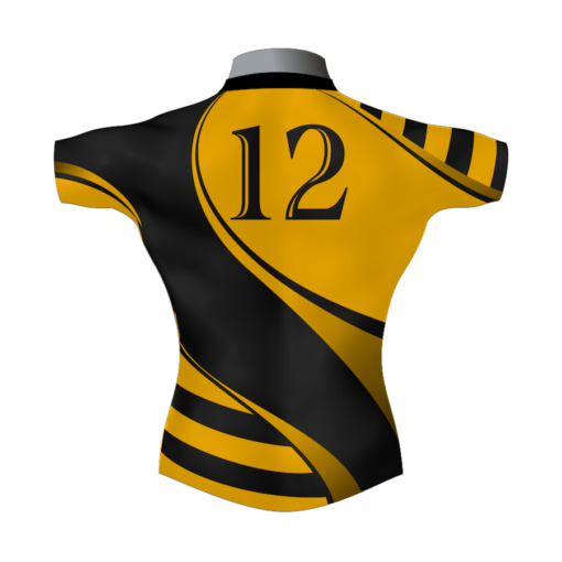 Stylish Bespoke Rugby Shirt TMS 400 Back - Badger Rugby