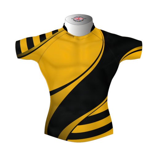 Stylish Bespoke Rugby Shirt TMS 400 Front - Badger Rugby