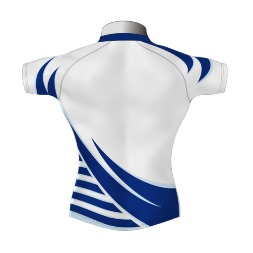 Stylish Bespoke Rugby Shirt TMS 619 Back - Badger Rugby