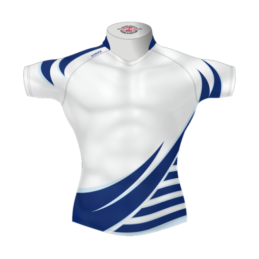 Stylish Bespoke Rugby Shirt TMS 619 Front - Badger Rugby