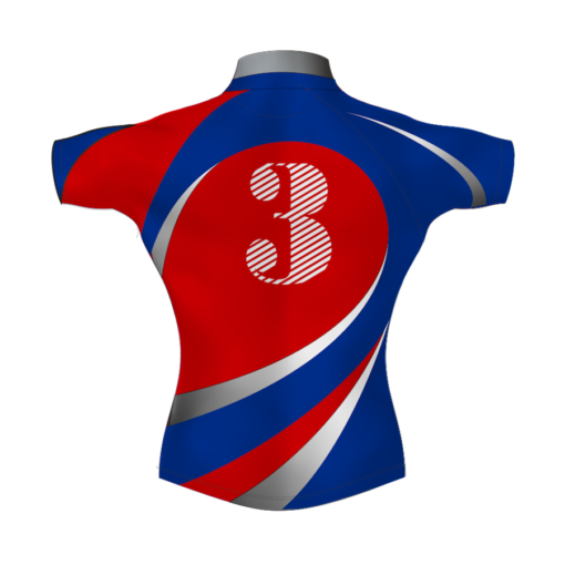 Stylish Custom Rugby Shirt TMS 469 Back - Badger Rugby