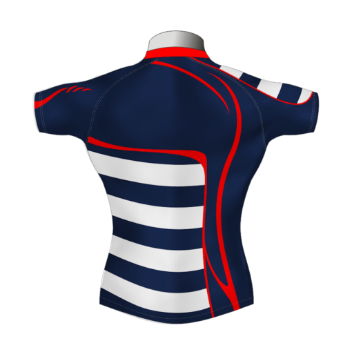 Stylish Custom Rugby Shirt TMS 625 Back - Badger Rugby