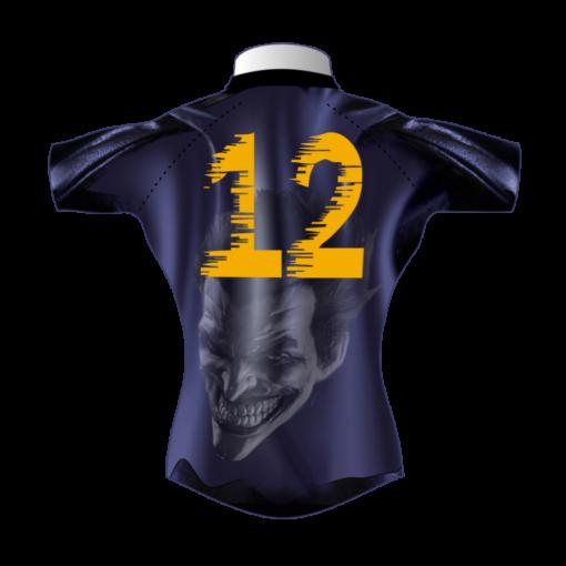 Superhero Bespoke Rugby Tour Shirt TRS 426 Back - Badger Rugby