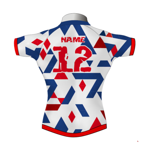 Unusual Bespoke Rugby Shirt TMS 620 Back - Badger Rugby