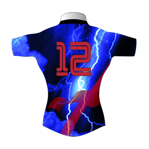 Unusual Bespoke Rugby Tour Shirt TRS 427 Back - Badger Rugby