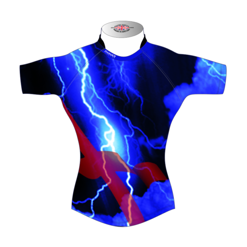Unusual Bespoke Rugby Tour Shirt TRS 427 Front - Badger Rugby