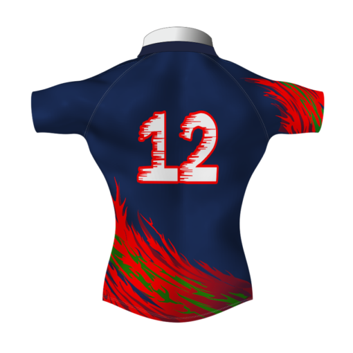 Unusual Bespoke Rugby Tour Shirt TRS 595 Back - Badger Rugby