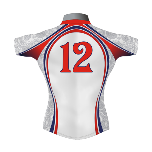 Unusual Custom Rugby Shirt TMS 416 Back - Badger Rugby