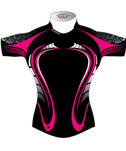 Unusual Custom Rugby Tour Shirt TRS 428 Front - Badger Rugby
