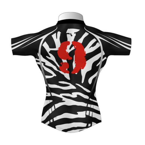 Unusual Personalised Rugby Tour Shirt TRS 581 Back - Badger Rugby