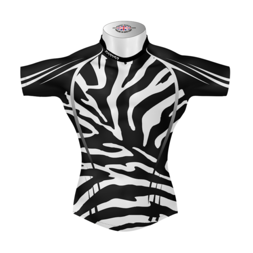 Unusual Personalised Rugby Tour Shirt TRS 581 Front - Badger Rugby