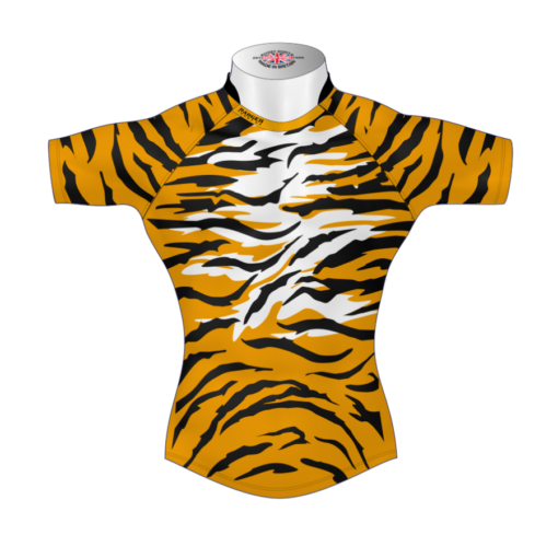Unusual Personalised Rugby Tour Shirt TRS 594 Front - Badger Rugby