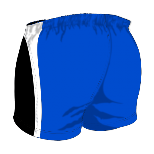 Custom, Bespoke Rugby Short Design 251 Back - Badger Rugby