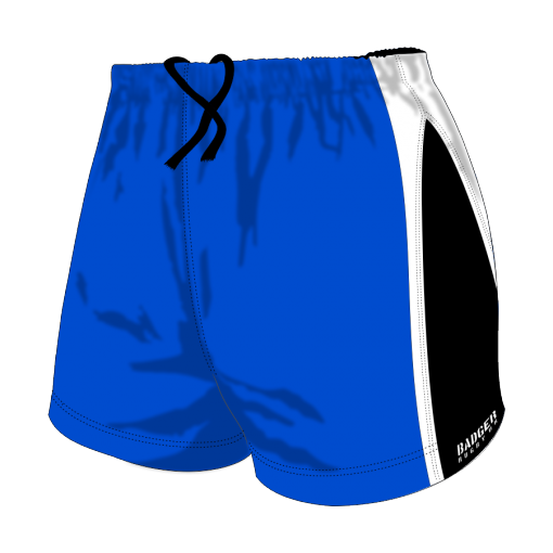 Custom, Bespoke Rugby Short Design 251 Front - Badger Rugby