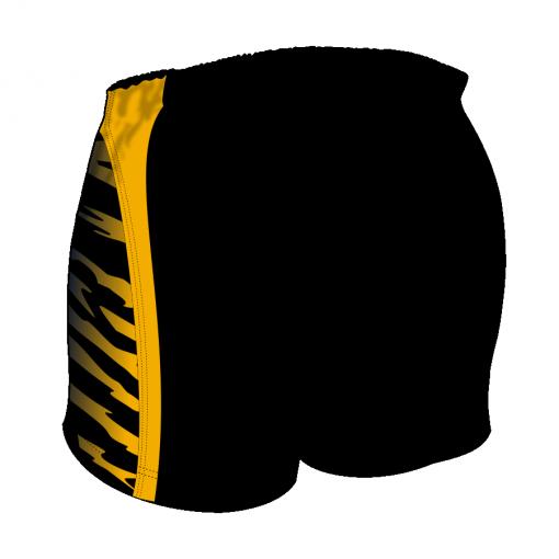 Custom, Bespoke Rugby Short Design 255 Back - Badger Rugby