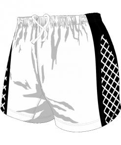 Custom, Bespoke Rugby Short Design 259 Front - Badger Rugby