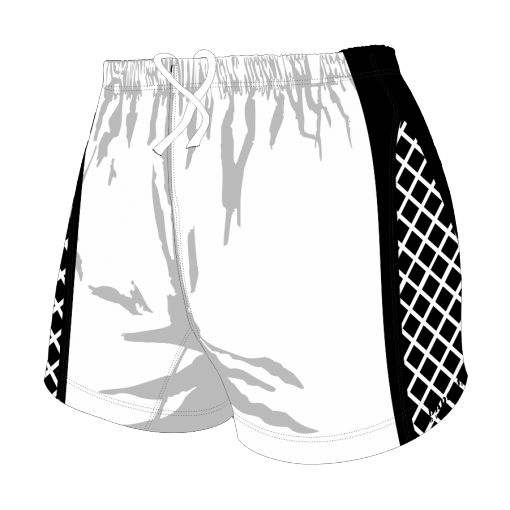 Custom, Bespoke Rugby Short Design 259 Front - Badger Rugby