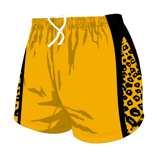 Custom, Bespoke Rugby Short Design 263 Front - Badger Rugby