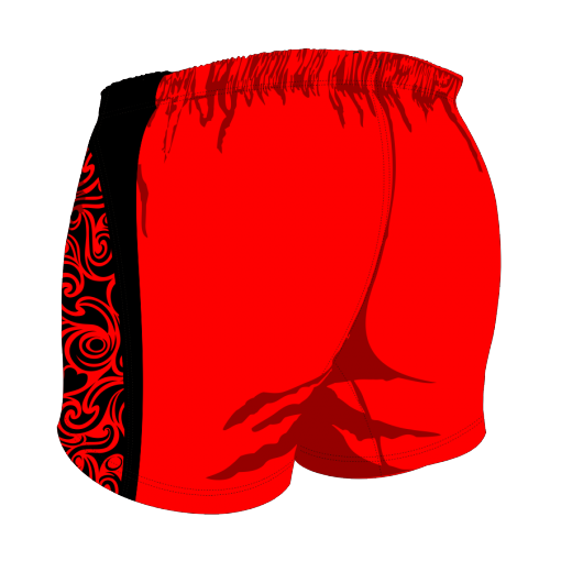 Custom, Bespoke Rugby Short Design 272 Back - Badger Rugby