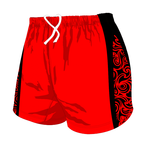 Custom, Bespoke Rugby Short Design 272 Front - Badger Rugby
