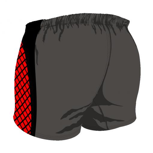Custom, Bespoke Rugby Short Design 280 Back - Badger Rugby