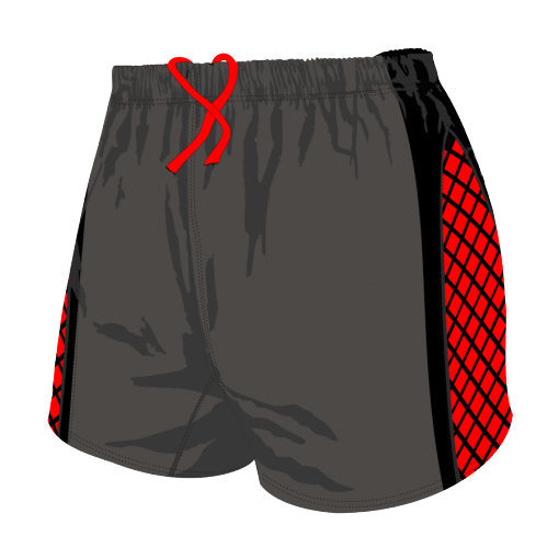 Custom, Bespoke Rugby Short Design 280 Front - Badger Rugby