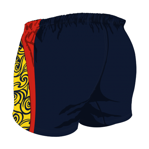 Custom, Bespoke Rugby Short Design 283 Back - Badger Rugby