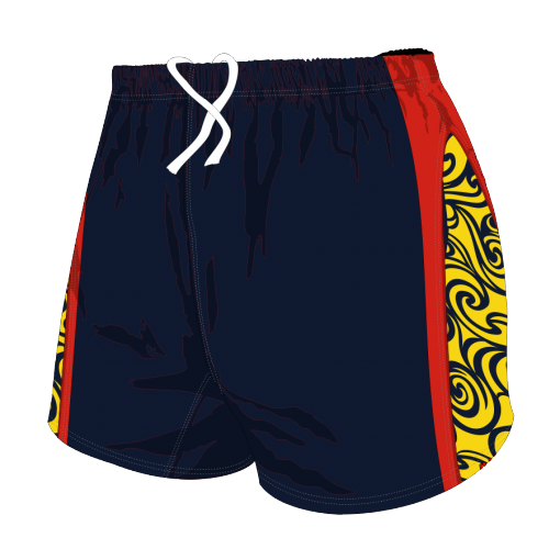 Custom, Bespoke Rugby Short Design 283 Front - Badger Rugby