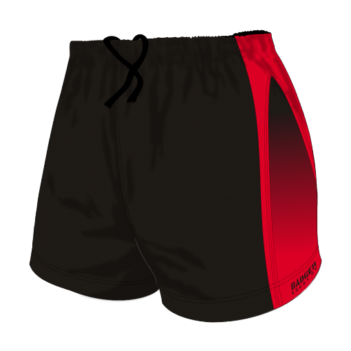 Custom, Bespoke Rugby Short Design 284 Front - Badger Rugby