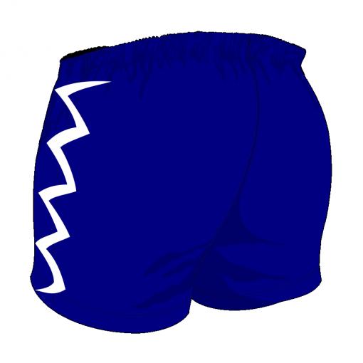 Custom, Bespoke Rugby Short Design 406 Back - Badger Rugby