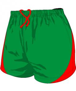 Custom, Bespoke Rugby Short Design 407 Front - Badger Rugby
