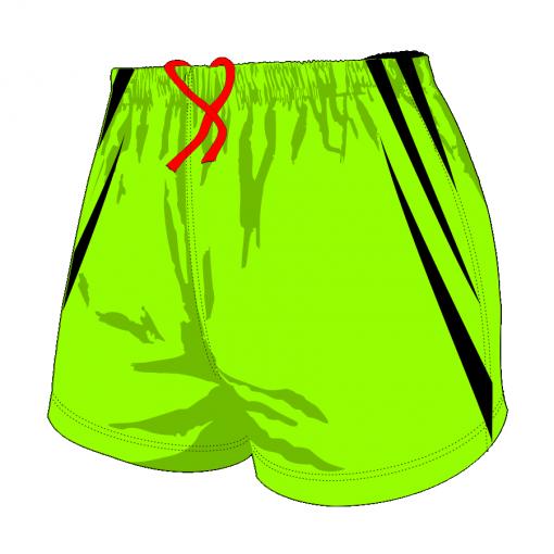 Custom, Bespoke Rugby Short Design 409 Front - Badger Rugby