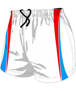 Custom, Bespoke Rugby Short Design 411 Front - Badger Rugby