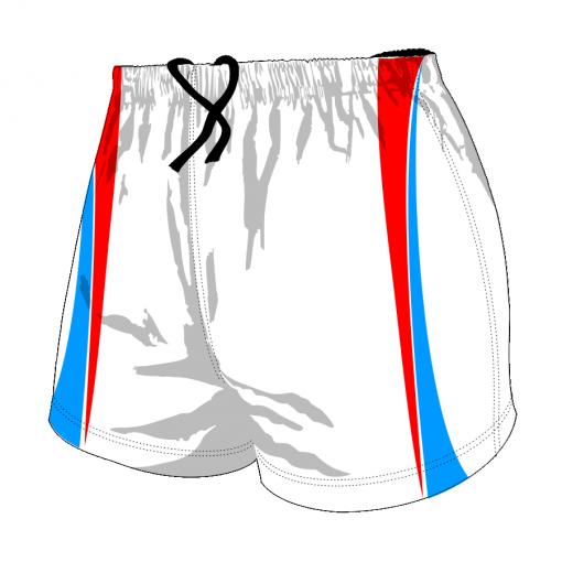Custom, Bespoke Rugby Short Design 411 Front - Badger Rugby