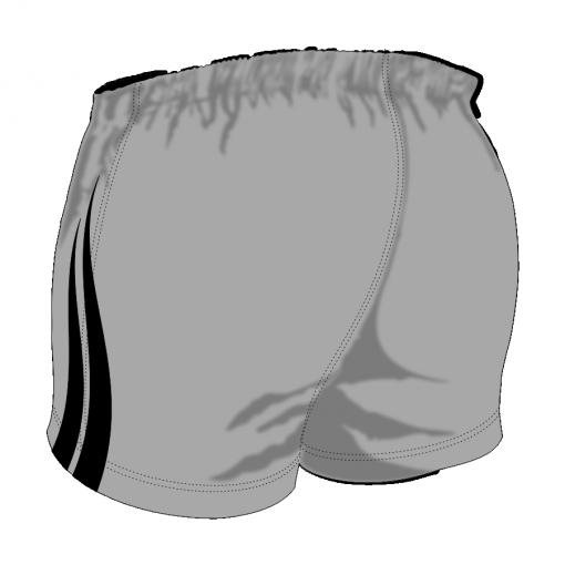 Custom, Bespoke Rugby Short Design 417 Back - Badger Rugby